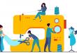 European textile industry slows again